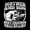 Mother And Son Gift Family Mom Fist Bump Tee - Men's Premium T-Shirt