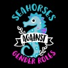 Seahorses against Gender Roles - Men's Premium T-Shirt