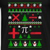Mathematician - Ugly Christmas sweater - Men's Premium T-Shirt