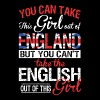 English - You Can Take This Girl Out Of England - Men's Premium T-Shirt