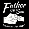 Father and Son - Father and Son Matching outfits - Men's Premium T-Shirt