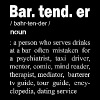 Bartender - Bartender Definition - Men's Premium T-Shirt