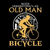 OLD MAN BICYCLE T-Shirt - Men's Premium T-Shirt