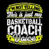 Funny Basketball coach: My Basketball Coach Voice - Men's Premium T-Shirt