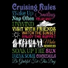 Cruising Rules T Shirt - Men's Premium T-Shirt