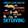 I'm Skydiving T Shirt - Men's Premium T-Shirt