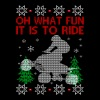 Quad biking Ugly Christmas Sweater - Men's Premium T-Shirt