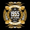 September 1955 62 Years Of Being Awesome - Men's Premium T-Shirt