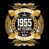 October 1955 62 Years Of Being Awesome - Men's Premium T-Shirt