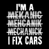 I'm a mekanic mehcanik mechanick i fix cars - Men's Premium T-Shirt