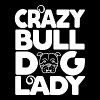 Crazy Bulldog Lady - Men's Premium T-Shirt
