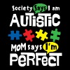 AUTISM AWARENESS SHIRT FOR KIDS - I AM PERFECT - Men's Premium T-Shirt