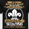 Once a scout always a scout no matter where you go - Men's Premium T-Shirt