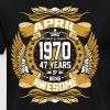 April 1970 47 Years Of Being Awesome - Men's Premium T-Shirt