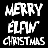 Christmas - Merry Elfin' Christmas - Men's Premium T-Shirt