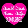 Bodybuilder - world's best mom wife bodybuilder - Men's Premium T-Shirt