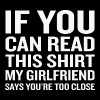 Girlfriend - If You Can Read This My Girlfriend - Men's Premium T-Shirt