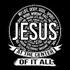 Jesus - Jesus at the center of it all awesome te - Men's Premium T-Shirt