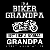 Biker grandpa - i'm a biker grandpa just like a - Men's Premium T-Shirt