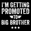 Brother - I'm getting promoted to big brother - Men's Premium T-Shirt