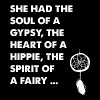 Hippie - She had the soul of a gypsy the heart o - Men's Premium T-Shirt
