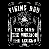 Viking - Viking Dad The Man The Warrior The Lege - Men's Premium T-Shirt