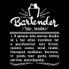 Bartender - Gifts Bartender Definition s Funny B - Men's Premium T-Shirt