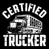 Trucker - Certified badass trucker - Men's Premium T-Shirt