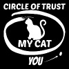 Cat lover - My cat is in the circle of trust - Men's Premium T-Shirt