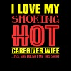 Caregiver wife - I love my caregiver wife - Men's Premium T-Shirt