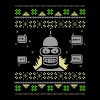 Robot - Ugly robot christmas sweater - Men's Premium T-Shirt