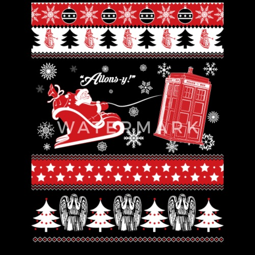 ba9daf96d8 Doctor fandom- Ugly Christmas Sweater by | Spreadshirt