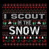 I Scout In The Snow Christmas Ugly Sweater - Men's Premium T-Shirt
