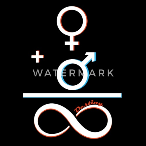Math Symbols Woman Men Symbol Infinity Destiny By Vicoli Shirts