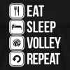 eat sleep volley repeat - Men's Premium T-Shirt