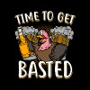 (Gift) Time to get basted - Men's Premium T-Shirt