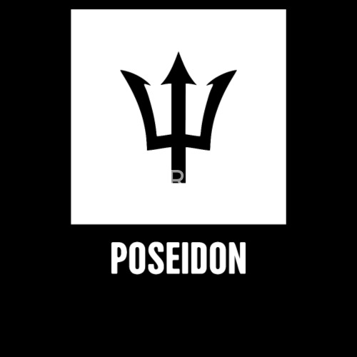 Poseidon Greek Mythology God Symbol By Spreadshirt