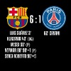 FC Barcelona 6-1 PSG - Men's Premium T-Shirt