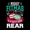 Merry Fitmas and A Happy New Rear Christmas - Men's Premium T-Shirt