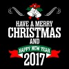 Have A Merry Christmas And Happy New Year 2017 - Men's Premium T-Shirt
