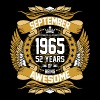 September 1965 52 Years Of Being Awesome - Men's Premium T-Shirt