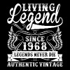Living Legend Since 1968 Legends Never Die - Men's Premium T-Shirt