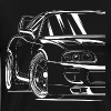 Best Toyota Supra Shirt Design - Men's Premium T-Shirt
