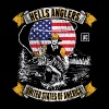 HELLS ANGLERS USA fishermen angler used look - Men's Premium T-Shirt