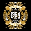December 1964 53 Years Of Being Awesome - Men's Premium T-Shirt
