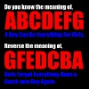 The Meaning of abcdefg - Men's Premium T-Shirt