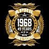 April 1968 49 Years Of Being Awesome - Men's Premium T-Shirt