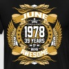 June 1978 39 Years Of Being Awesome - Men's Premium T-Shirt