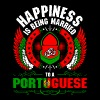 Happiness Is Being Married To A Portuguese - Men's Premium T-Shirt