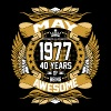 May 1977 40 Years Of Being Awesome - Men's Premium T-Shirt